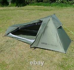 1 Person Backpacking Package Tent, Down Sleeping Bag, UltraPad, Survival Bag +