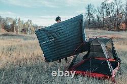 1 Pound Ultralight 900 Fill Down Quilt Sleeping Bag Ultra Compact