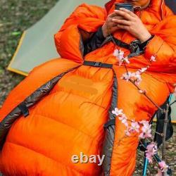 260g Outdoor Camping Down Sleeping Bag Wearable Ultra-Light Adult Sleep Blanket