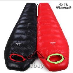 400-1200g outdoor ultralight camping Sleeping bag mummy duck down sleeping bag
