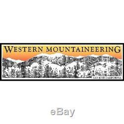 6'0 Western Mountaineering Bison Gore Windstopper BGW -40F down sleeping bag