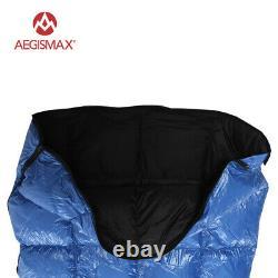 AEGISMAX Ultralight Down Sleeping Bags Envelope 20080cm Outdoor Camping Hiking