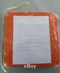 Arctic Aircrew US Military Orange Survival Sleeping Bag BRAND NEW