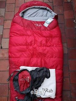 BNWT RAB Ascent 900 Down Filled Sleeping Bag