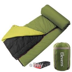 Battery-operated Heated Down Camping Blanket Sleeping Bag for Cold Weather