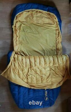 Big Ages King Salomon 2 Person Sleeping Bag 15 Degree 650 Down Tek DoubleWide