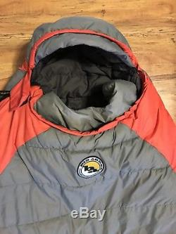 Big Agnes 100 % Down Long Sleeping Bag