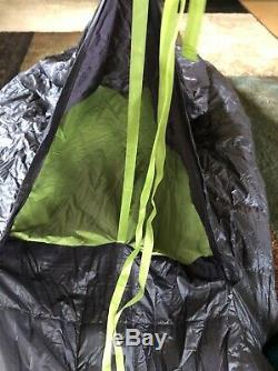 Big Agnes 30º Downtek Zipperless Sleeping Bag Thunderhead