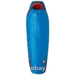 Big Agnes Anvil Horn 15° Sleeping Bag Blue/Red Left