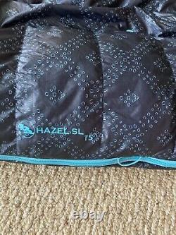 Big Agnes Hazel 15 degree down womens sleeping bag