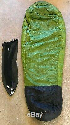 Big Agnes Zirkel 20° 800 fill Down Ultralight summer sleeping bag