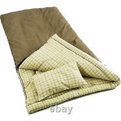 Big Game King Size Outdoor Hiking Camping -5 Degree Canvas Sleeping Bag