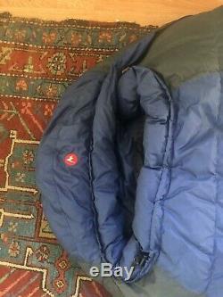 Blue Marmot Pinnacle Down Sleeping Bag15 F