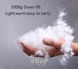 CreHouse -10°C / 15°F Down Sleeping Bag 800 Fill Ultralight Envelope Goose Down