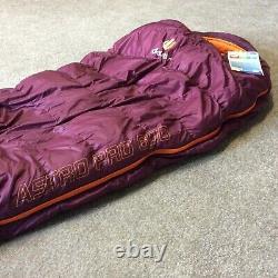 Deuter Astro Pro 600sl 175 CM Purple Sleeping Bag Rrp £300
