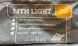 EMS Mtn Light 800 Fill Down Minus 20 Sleeping Bag