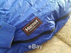 Excellent! MARMOT Colorado, USA Marmot Mountain Works GORE-TEX DOWN SLEEPING BAG