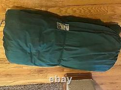 Excellent Vintage Eddie Bauer 5 Lb Pound Goose Down Sleeping Bag Totem Label
