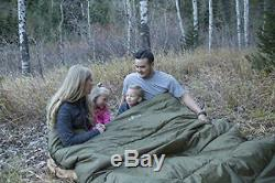 Extreme Cold Weather 0F Degree Extra Warm DOUBLE SLEEPING BAG For Family Couples