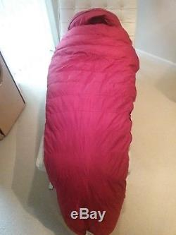 FEATHERED FRIENDS DOWN Gore TERN II SLEEPING BAG (LONG) PRE-OWNED