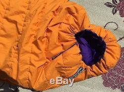 FEATHERED FRIENDS Down Sleeping Bag MUMMY 2.3Lbs UL 79x29 Seattle USA