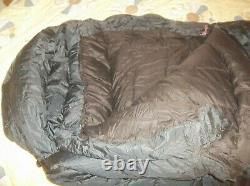 Feathered Friends Gore DryLoft Peregrine -25 WIDE Long Sleeping Bag Goose Down