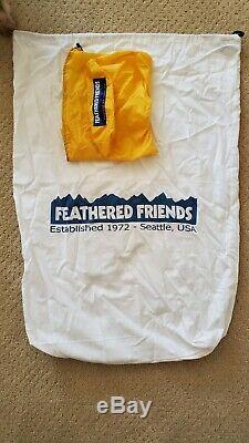 Feathered Friends Hummingbird 20F Sleeping Bag 6Ft