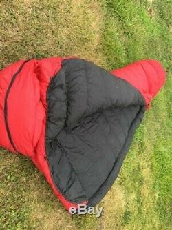 Feathered Friends Sleeping Bag, Down Filled Bag, Vintage Sporting Equipment