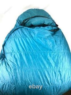 Feathered Friends Snow Goose EX -40 Blue Size Regular Down Mummy Sleeping Bag