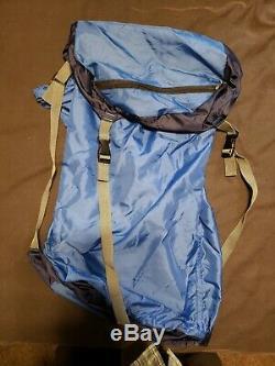Feathered Friends Snowy Owl -60 down expedition mummy/sleeping bag blue regular