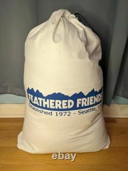 Feathered Friends Tanager 20 CFL Sleeping Bag 68 (Size Regular) 950+ Down