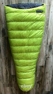 Feathered Friends Tanager 20 degree Ultralight Sleeping Bag 68 Length 18.6 oz