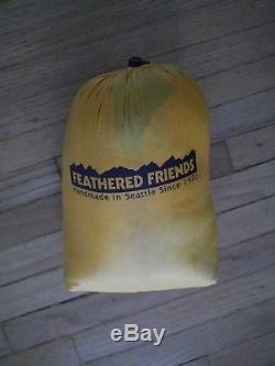 Feathered Friends Vireo UL ultralight down sleeping bag 62