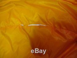 Feathered Friends Women's Down Tangerine Sleeping Bag Regular