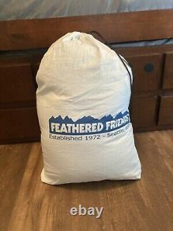 Feathered friends flicker yf down sleeping bag