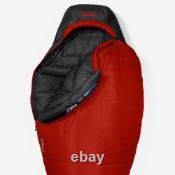 First Ascent Kara Koram -30° Stormrepel Sleeping Bag 850 Fill Goose Down New