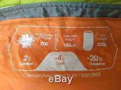 Force Ten Catalyst 400 Down Sleeping Bag