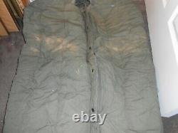 Genuine U. S. Military Extreme Cold Weather Down Sleeping Bag Army