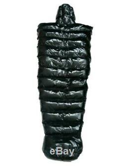 Glossy Shiny Nylon Wetlook Down Sleeping Sack Winter Sleeping Bag glanznylon PVC