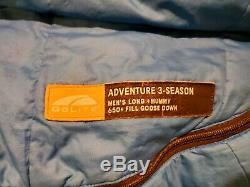 GoLite Adventure 3 Season 25 Deg Down Sleeping Bag Long ultralight