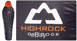 HIGHROCK 514F -15-10C Outdoor Camping Ultralight Adult Goose Down Sleeping Bag