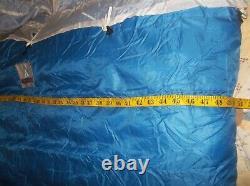 Holubar DOUBLE Timberline Goose Down Sleeping Bag Vintage USA w Liner PERFECT