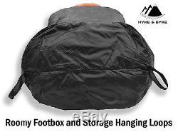 Hyke & Byke Eolus 0°F 800-Fill Down Ultralight Sleeping Bag for Backpacking, NEW