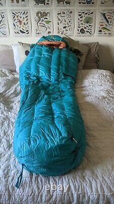 Hyke & Byke Eolus 15 Degree 850 FP Sleeping Bag Short 5'6