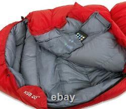 KLYMIT 20 Degree Down Sleeping Bag Red Certified Refurbished