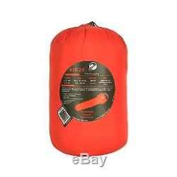 KLYMIT KSB 20 degree DOWN Sleeping Bag RED with stretch baffles REFURBISHED