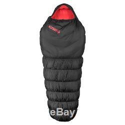 KLYMIT KSB OVERSIZED 0 degree DOWN Sleeping Bag BLACK with stretch baffles NEW