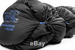 KLYMIT KSB OVERSIZED XL 20 Degree DOWN Sleeping Bag FACTORY REFURBISHED