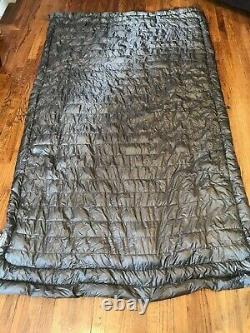 Kammok Firebelly 30 750-Fil Down Sleeping Bag and Top Quilt Used Just Once