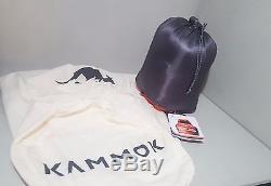Kammok Sleeping Bag Thylacine Down Regular Red and Grey NEW